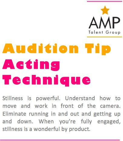 Acting Tips! * * * * * * * * #Actors #Dancers #Singers #Models #Performers #Celebrities #Famous #AListTalent #Talent #Artists #Comics #Characters #Hosts #Broadcasters #Movies #Television #Film #Theatre #Voice #Print #Brands #Acting #Actorslife #Agency #Tips #Audition #AuditionTips #ActingTips #AdviceforActors ##FamousQuote #HowTo #TalentAgency #Representation #Toronto #NY #LA #London #AMPTalent #AMPTalentGroup