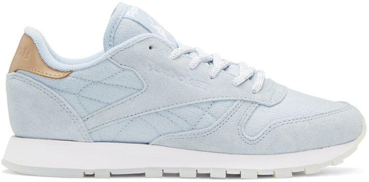 REEBOK Blue Seaworn Sneakers. #reebok #shoes #sneakers