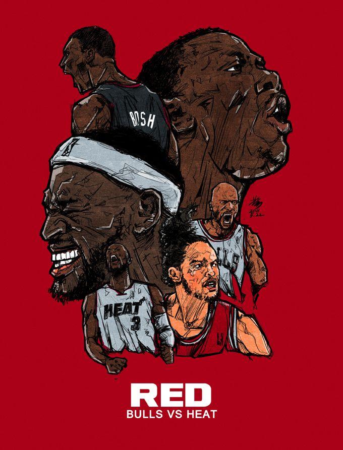 2011 NBA PLAY OFFS & FINALS on Behance
