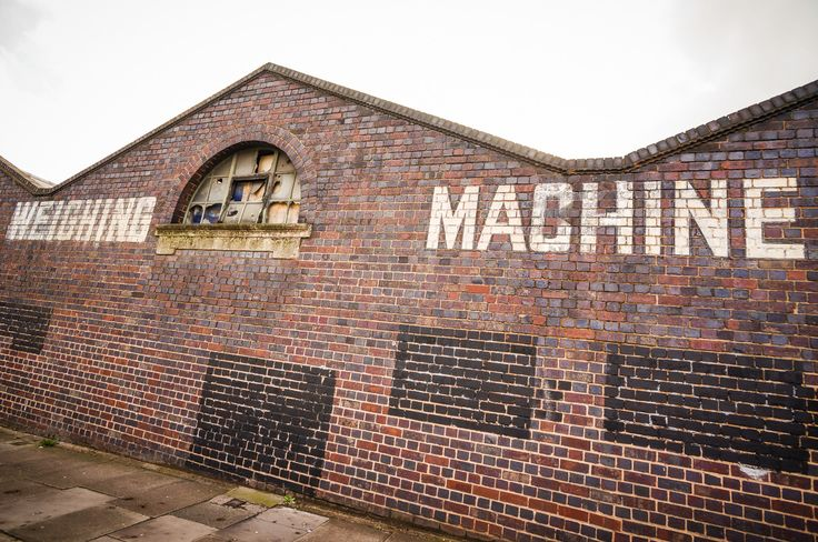 F.J. Thornton & Co. Ltd. Weighing Machine Manufacturers ghost sign, Birmingham, UK