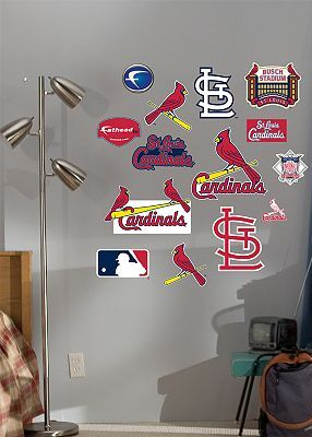 St Louis Cardinals Logo Wall Decals