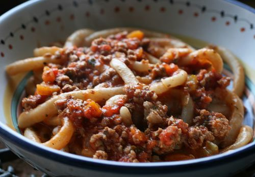 Recipe for Pici pasta. Originates in Siena, Italy where we enjoyed this lovely deliciousness.