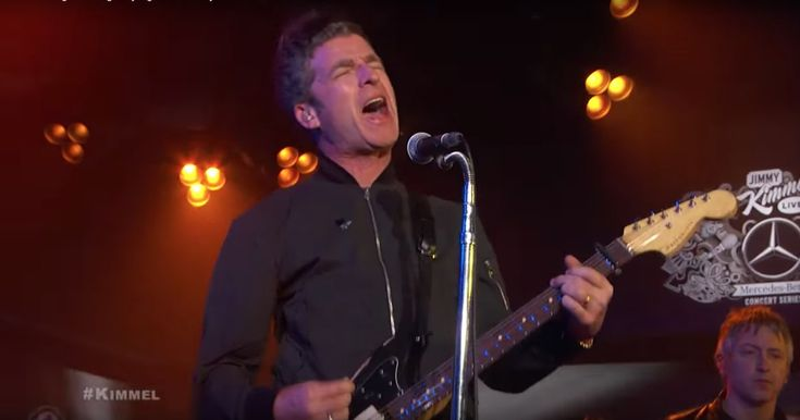 Watch Noel Gallagher Deliver Rousing 'Holy Mountain' on 'Kimmel' #headphones #music #headphones