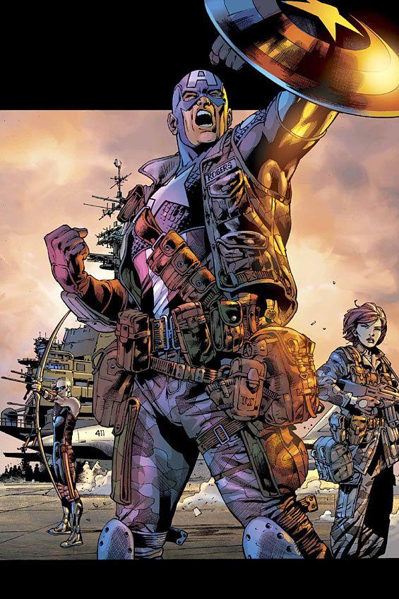 Ultimate Captain America.