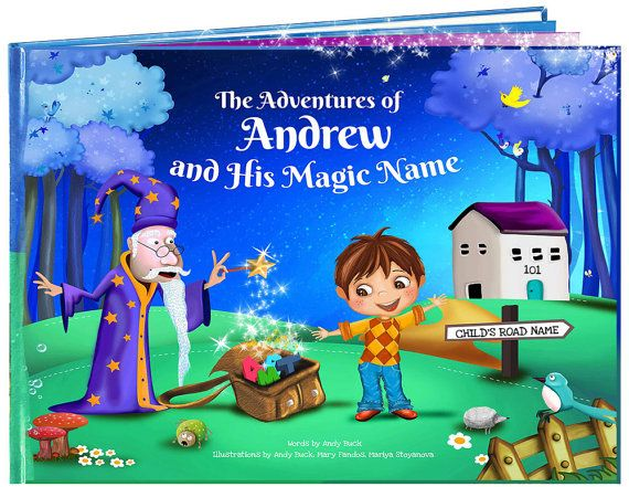 Personalised Children's Book - Unique to Every Child - Kids Books - Birthday…