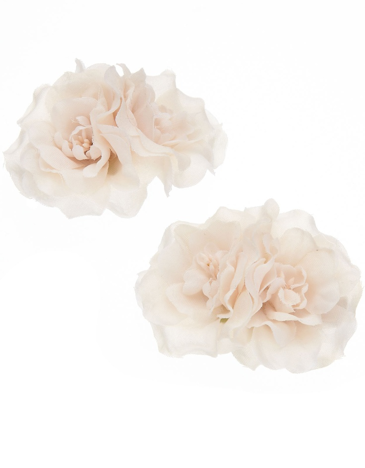Rose clips, £7 from Accessorize