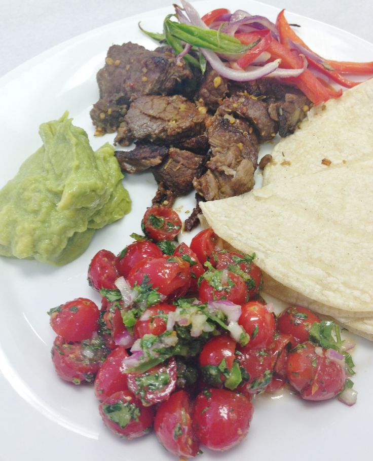 ... Braised Ancho Chile Strip Steak with Fresh Tomato and Key Lime Salsa