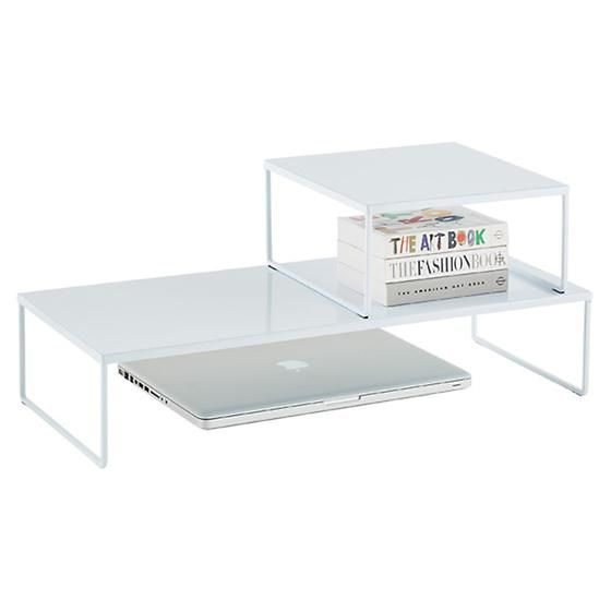 Franklin Desk Risers | Container Store | $19.99 & $39.99