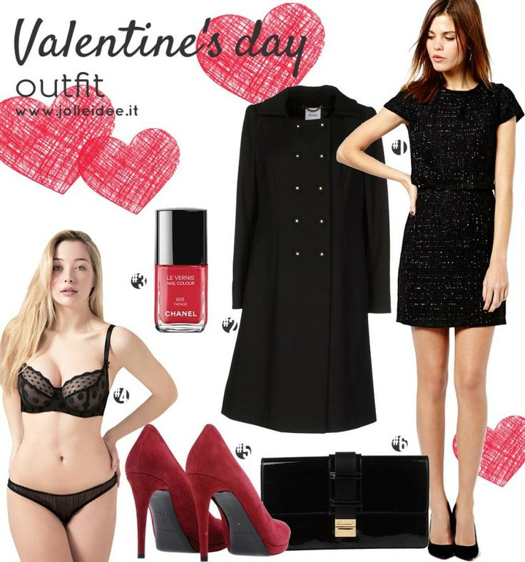 Total Look San Valentino 2014 / Valentine's Day total look - Outfit e Make up Tutorial by Naked 2 #outfit #makeuptutorial #makeup #naked2 #fashion #love #shopping #cosmetics