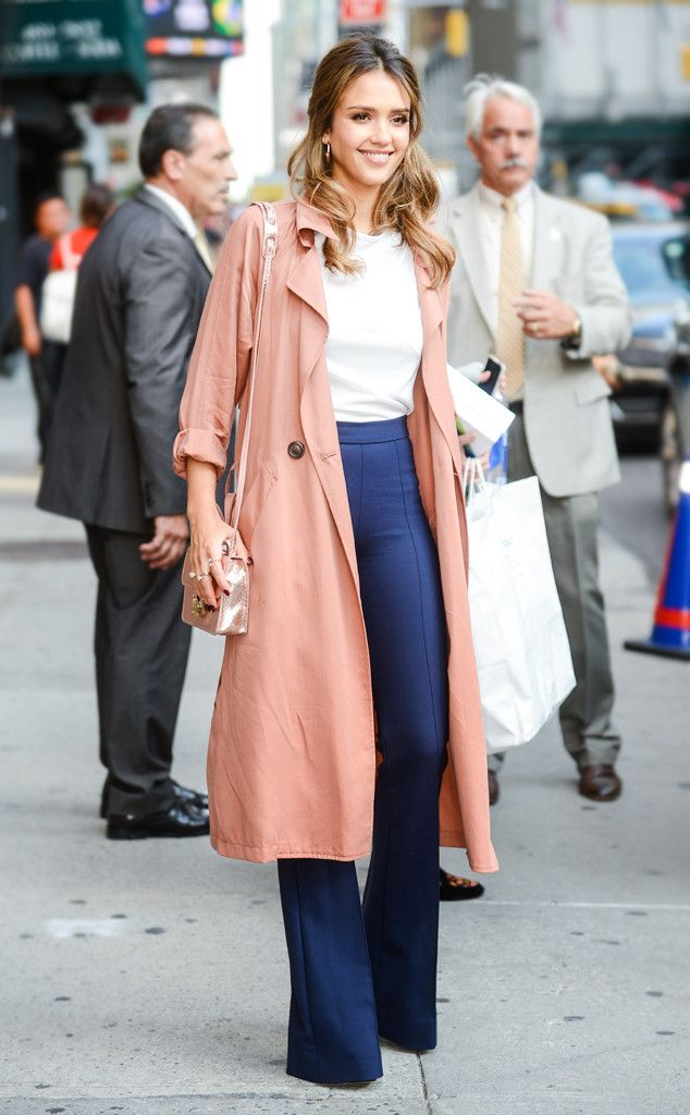 Jessica Alba From Best Celeb Street Style From Nyfw Spring 2017 Celebrities Are At Fashion Week