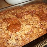 Paula Deen's Zucchini Bread Recipe I just made this and it is delicious but it needs less sugar. I've got to either cut out some of the sugar next time or substitute it for something else.