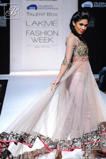 Anushree Reddy at Lakme Fashion Week 2013