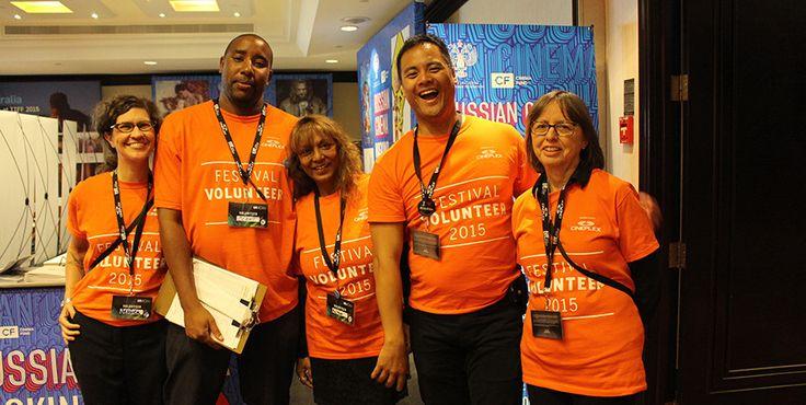 Volunteer toronto film festival