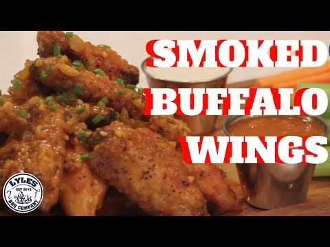 SMOKED BUFFALO WINGS | SHIGGIN' w. CHANDLER