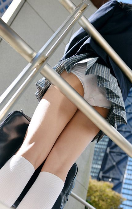 制服×ふともも : Photo
