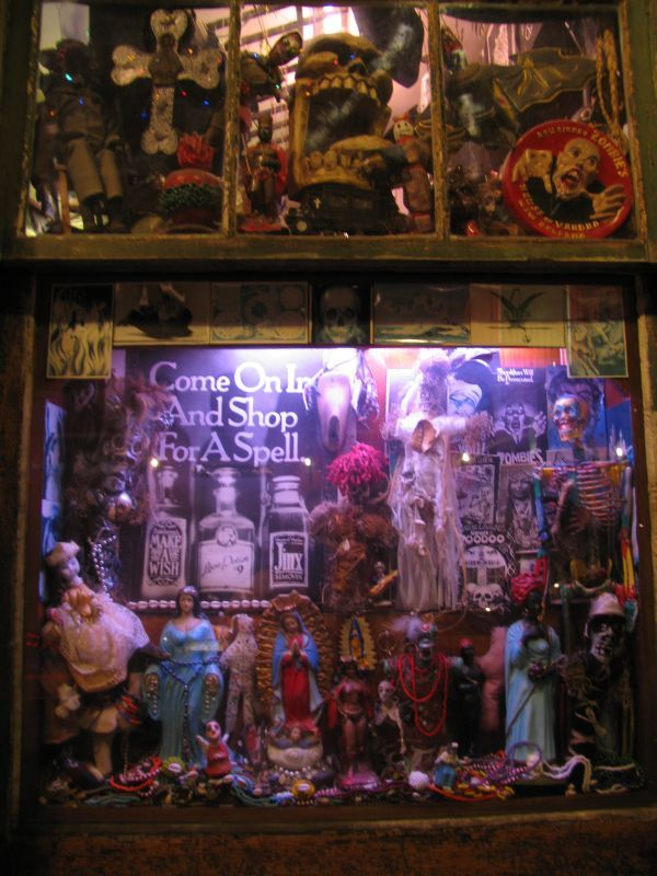 Art display inspiration...? voodoo shops in new orleans | New Orleans Bourbon