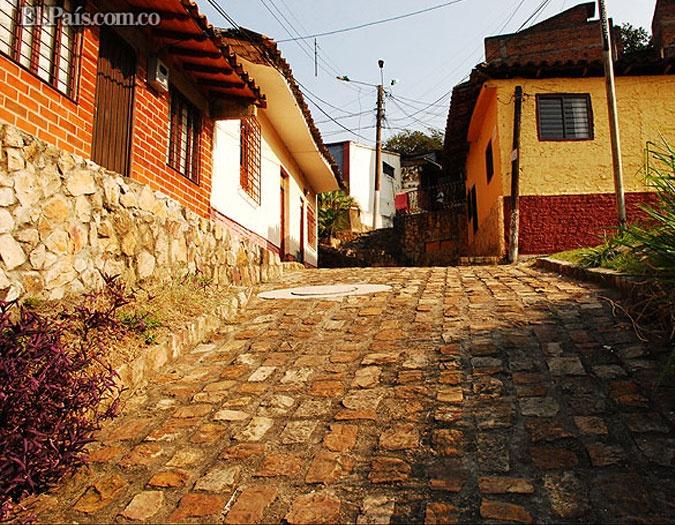 Las empedradas calles del tradicional Barrio San Antonio