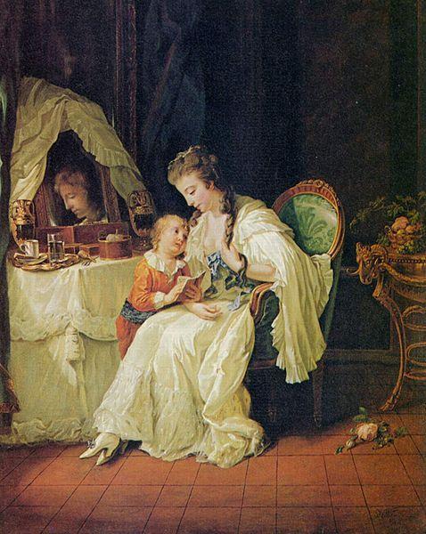 Johann Heinrich Wilhelm Tischbein, Familienszene, 1778