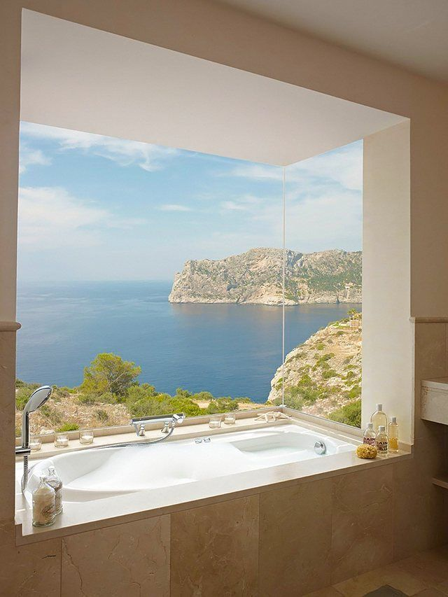Photographic Gallery  Bathrooms That Know To Make The Most Of Great Views