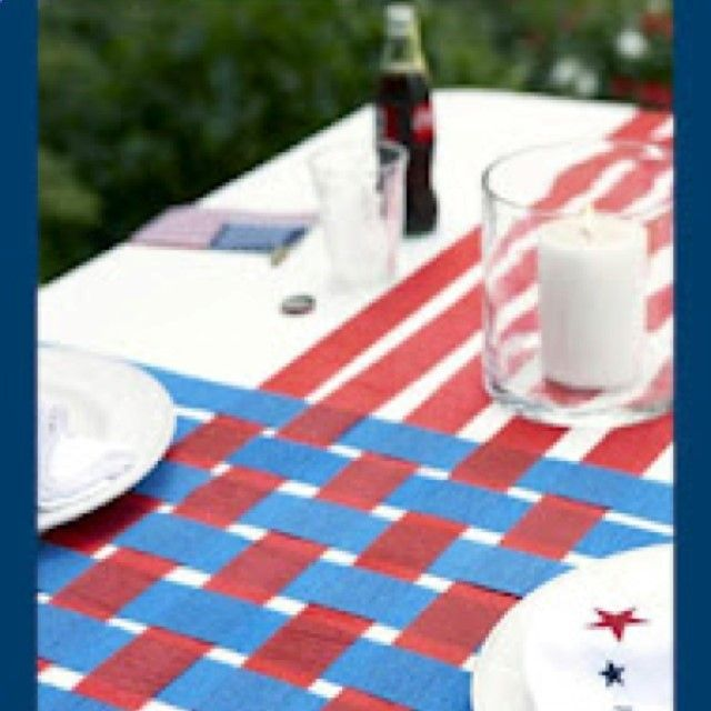 Ideas Original to decorate your table this season Ideas Original to decorate your table this season Crepe paper is soooo Cheap and theres a fun way to decorate your 4th of July picnic table. GOOD HOUSEKEEPING - Lets see some ideas to renovate our table for some celebration or special food. Or just if you feel like renovating your table. 10 original things to decorate your house this season with which you will surely feel, do you sign up? - Let's see some ideas to renovate our table for...