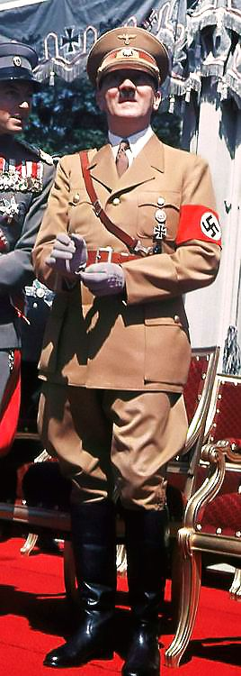Adolph Hitler....the Sub Human Monster who set the Conduct and Standards for every Dictator and Criminal Politician since 1933. | ⇅ tri
