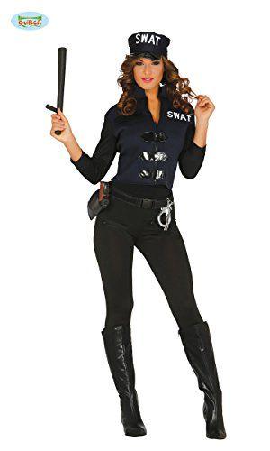 Damen Polizistin Kostüm ca 31€ | Kostüm-Idee zu Karneval, Halloween & Fasching