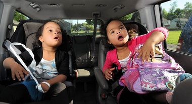 """They received the news in the hospital, soon after the twins were born. They would never forget the words: Down syndrome.""""I said, 'What will we do?'"""" the mother recalled. """"And he just said, 'We'll love them, that's all.' And that was the answer."""""""