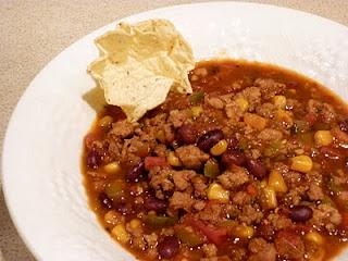 crockpot skinny turkey chilli