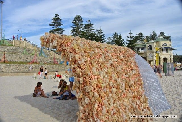 sami's colourfulworld: Sculpture by the Sea 2014 - Part 2