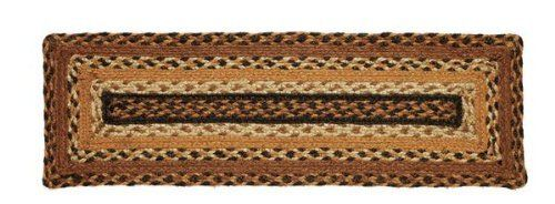 "Harvest Time Jute Stair Tread Rectanglar 8.5x27"" by Victorian Heart. $11.20. High end quality and workmanship!. All cloth items in our collections are 100% preshrunk cotton. All braided items (like rugs, baskets, etc.) are 100% jute. Extensive line of matching items and accessories available! (Search by Collection name). See Product Description below for more details!. Product measurements and additional details listed in title and/or Product Description below.. 100% Jute"