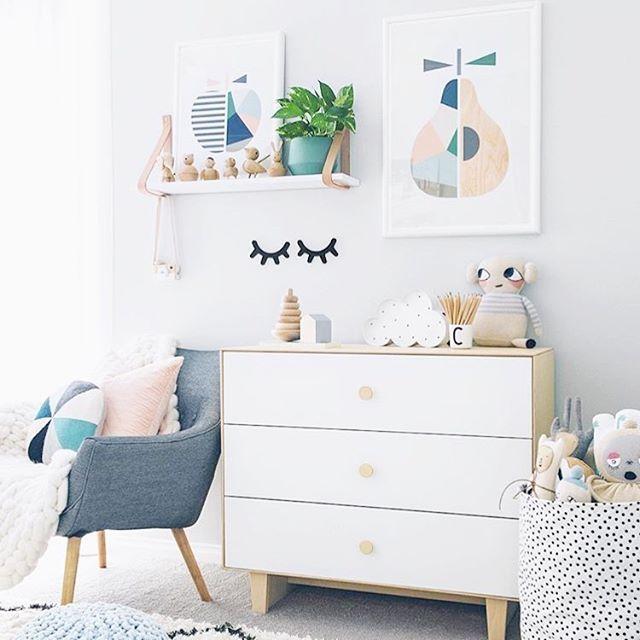 Instagram photo by @oeufnyc Oeufnyc Oeuf dresser merlin storage modern design furniture kids baby children