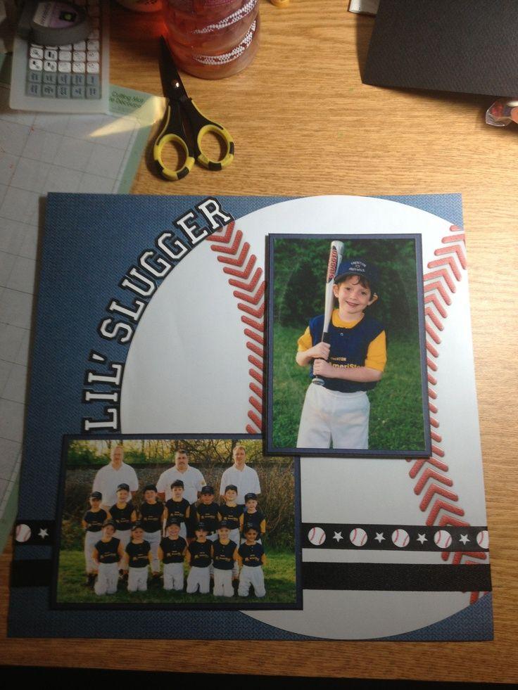 Baseball Scrapbook Layouts - Bing Images