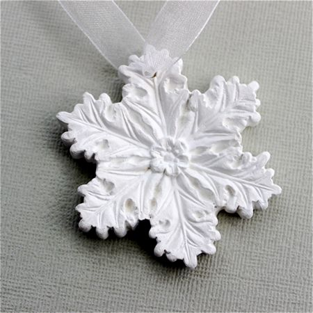 Snow Flower - Snowflake Christmas Tag, Decoration, Ornament | Red Punch Buggy | madeit.com.au tree!