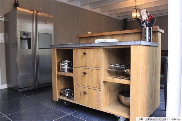 52 best images about keuken on pinterest black accent walls oak kitchen cabinets and indoor - Uitgeruste keuken met bar ...