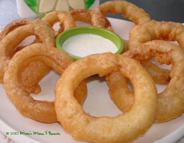 How To Make Homemade Battered Onion Rings