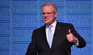 Australian Federal Treasurer Scott Morrison