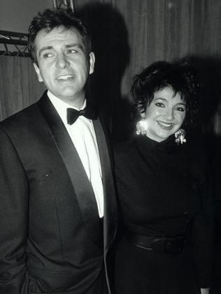 Peter Gabriel and Kate Bush in 1987