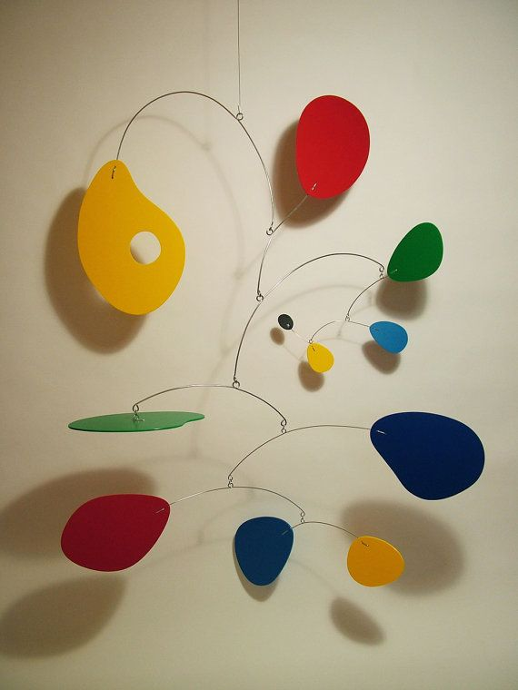 Art Mobile Jujumo XL Modern Hanging Sculpture by by frithmobiles, $600.00