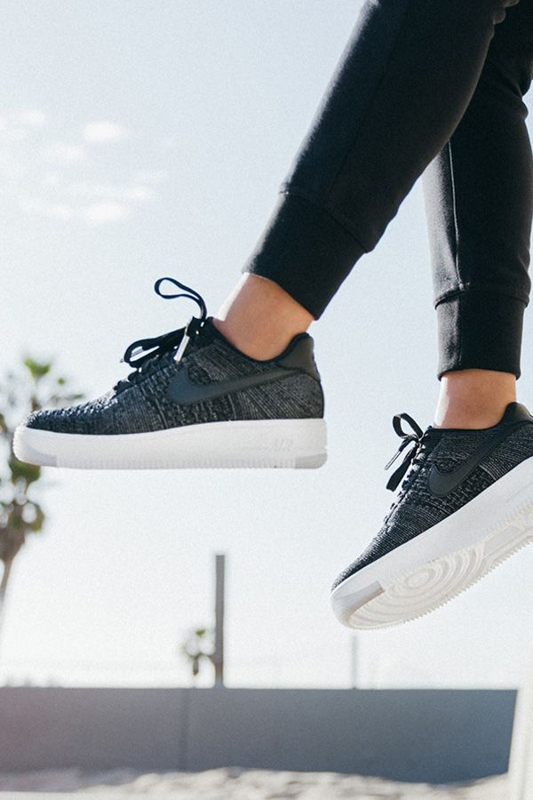 new style 33b4d c96f1 The lightweight Nike Air Force 1 Flyknit Low has your style on lock.    NIKEWOMEN LA   Sneakers nike, Shoes, Nike shoes