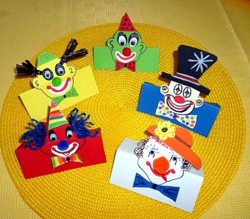 25 einzigartige clown basteln ideen auf pinterest. Black Bedroom Furniture Sets. Home Design Ideas