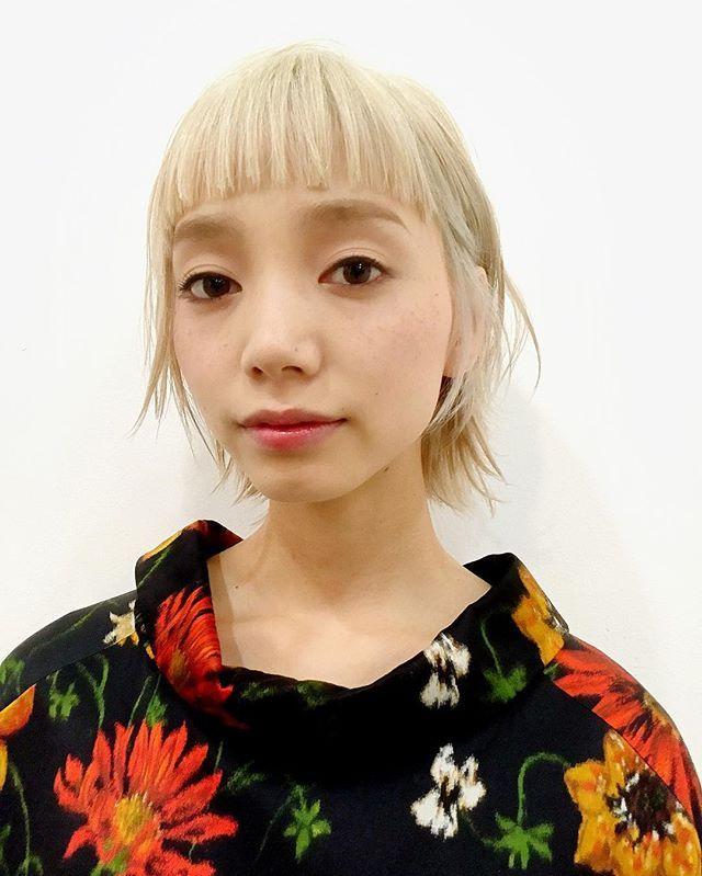 オフショット 前髪はフルバング◎ キレイになりましょう! hair&camera...@yudaikoshino model...sahominakanishi #オブヘア20160515#オブヘア宮崎台店#hair#ショート#アイロン #簡単スタイリング #ファッション#イルミナカラー#オシャレ#ストリート#street#lol#love#mery#locari