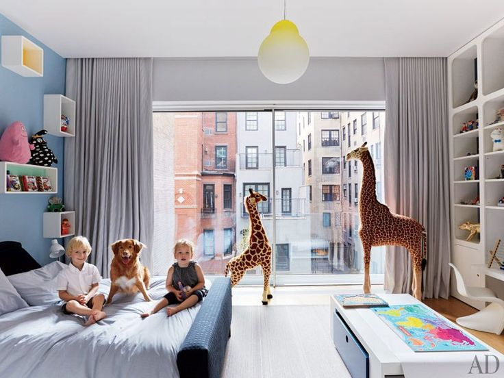 Manhattan townhouse child's room
