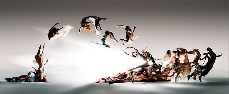 Blade of Light, the final editorial image created by Nick Knight, Alexander McQueen and Michael Clark for Numero magazine, Spring/Summer 2004