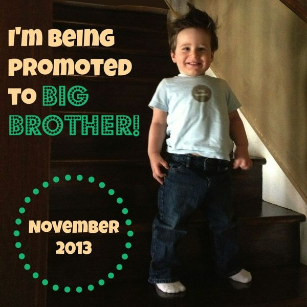 17 Best images about Big Brother Announcement – Big Brother Birth Announcement Ideas