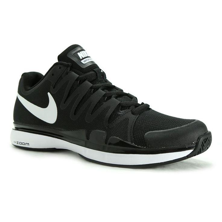 Nike Zoom Vapor 9.5 Tour Mens Tennis Shoe, Black/Anthracite, 631458 011