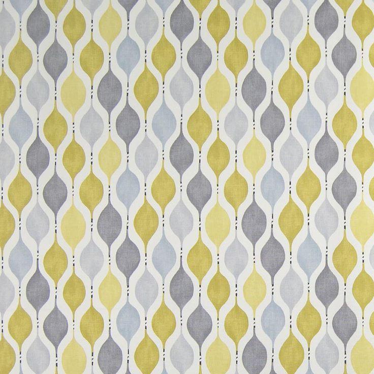 Warwick Fabrics : CHARLOTTE, Colour LIME