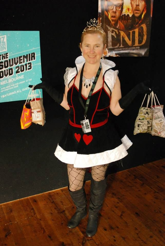 Queen of Hearts - Oz Comic Con Melbourne 2013 - pic by You Beautie