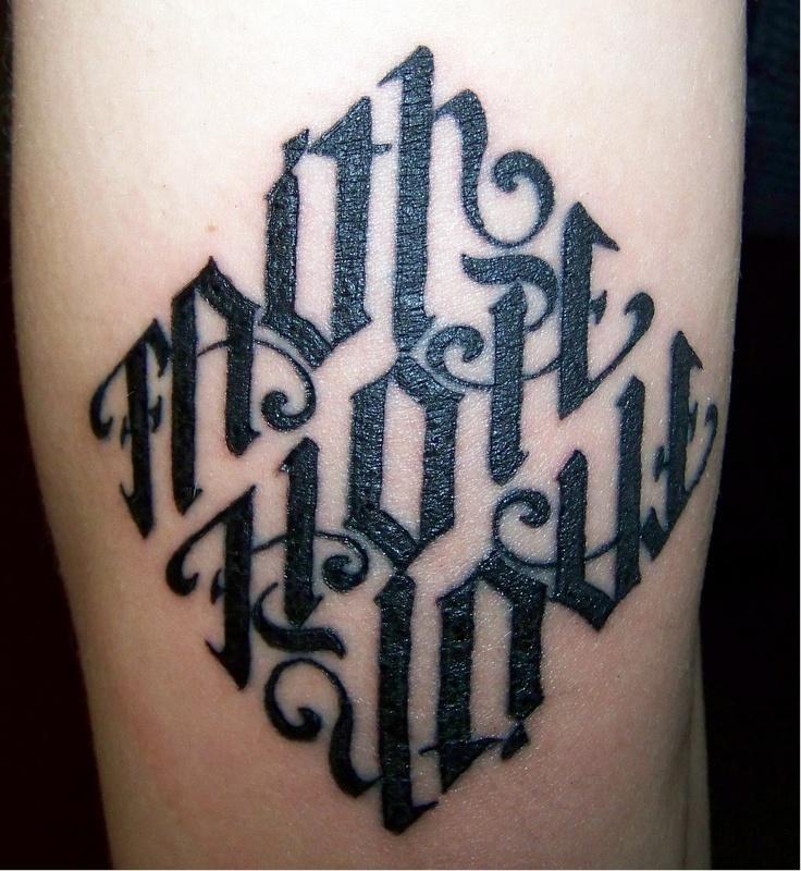 Tattoo Designs Upside Down: 26 Best Ambigram Tattoos Images On Pinterest