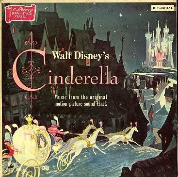 Old album cover for the Cinderella record.