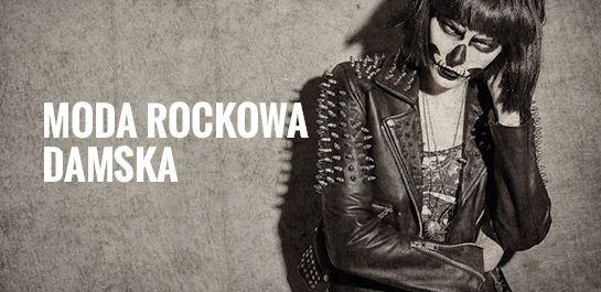 Moda rockowa damska